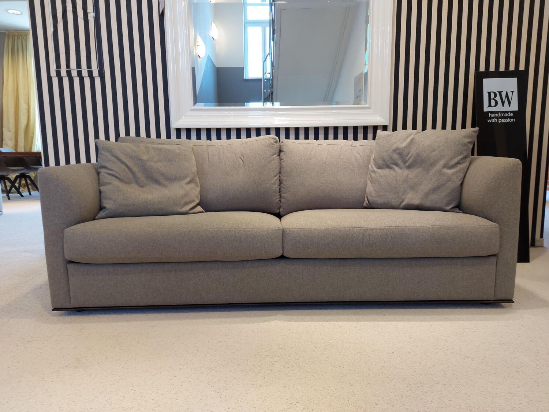 Sofa Inspiration Stoff T BW1739-292 Lewis Beige Grau mit 4 ...