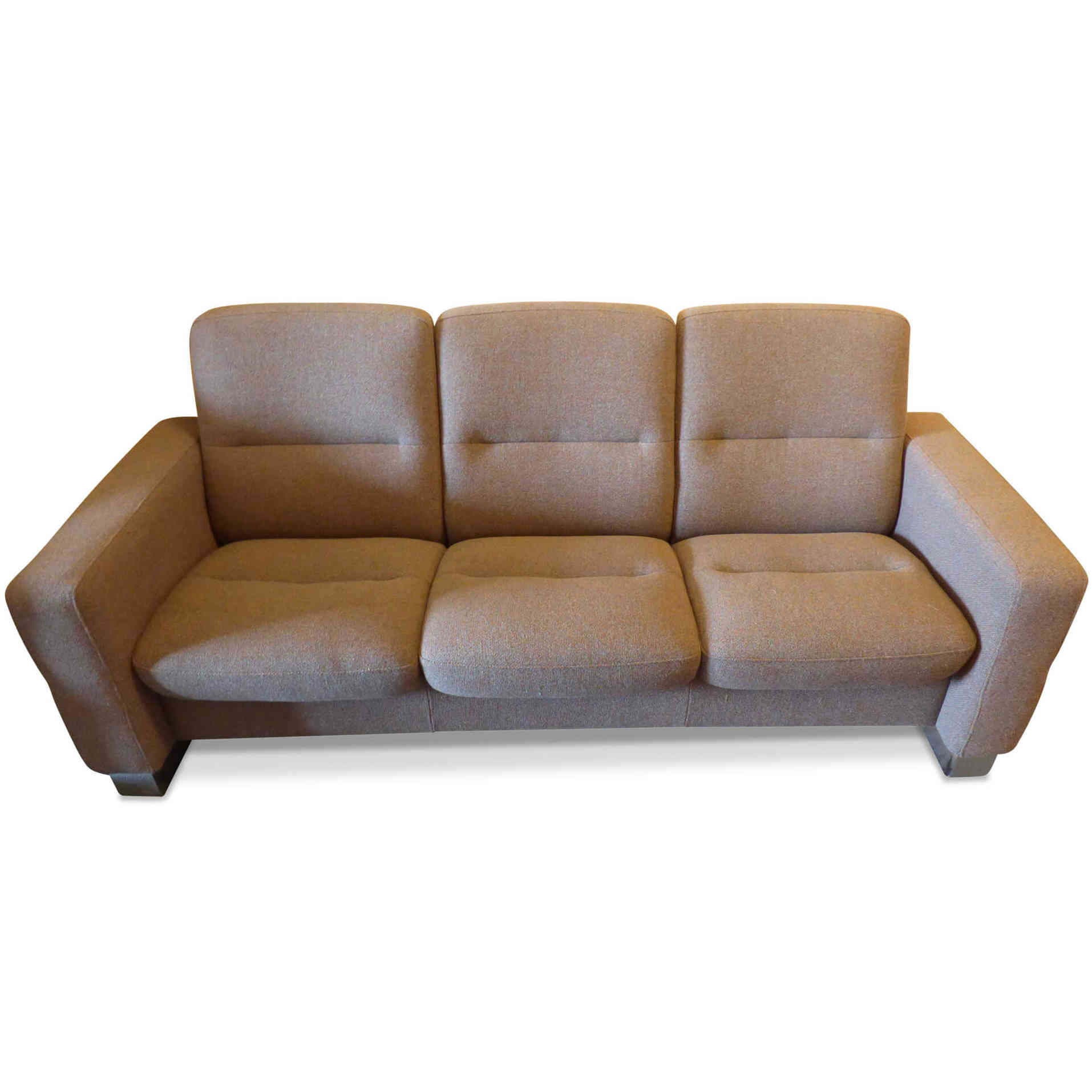 stressless designer sofa wave in cream beige stoff chrom beige chrom ebay. Black Bedroom Furniture Sets. Home Design Ideas