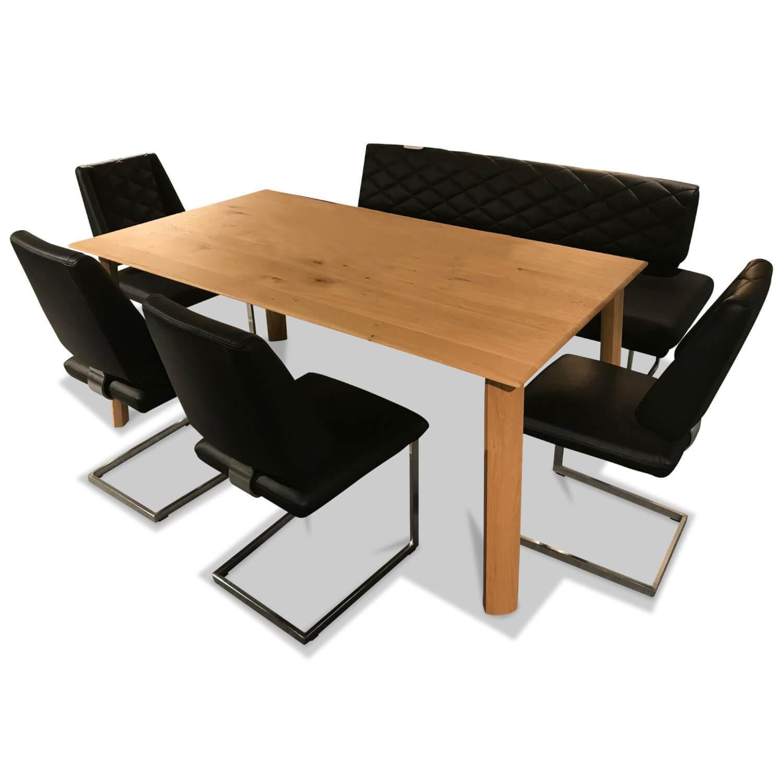 Essgruppe Sineo Tisch 4 Stühle Bank