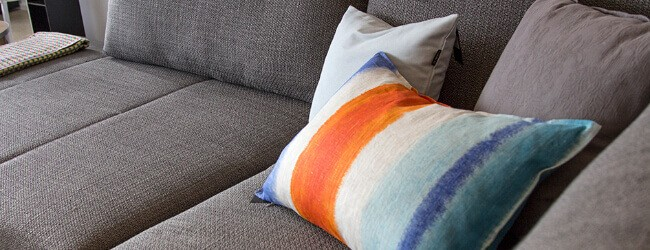 Blue Office sofa