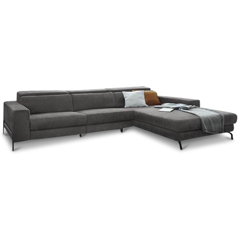 Ecksofa Mr 4810 Stoff Grau Relaxfunktion Musterring Sofas