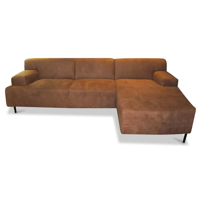 Ecksofa Silbo Stoff Braun - Easy Sofa - Sofas - günstig ...