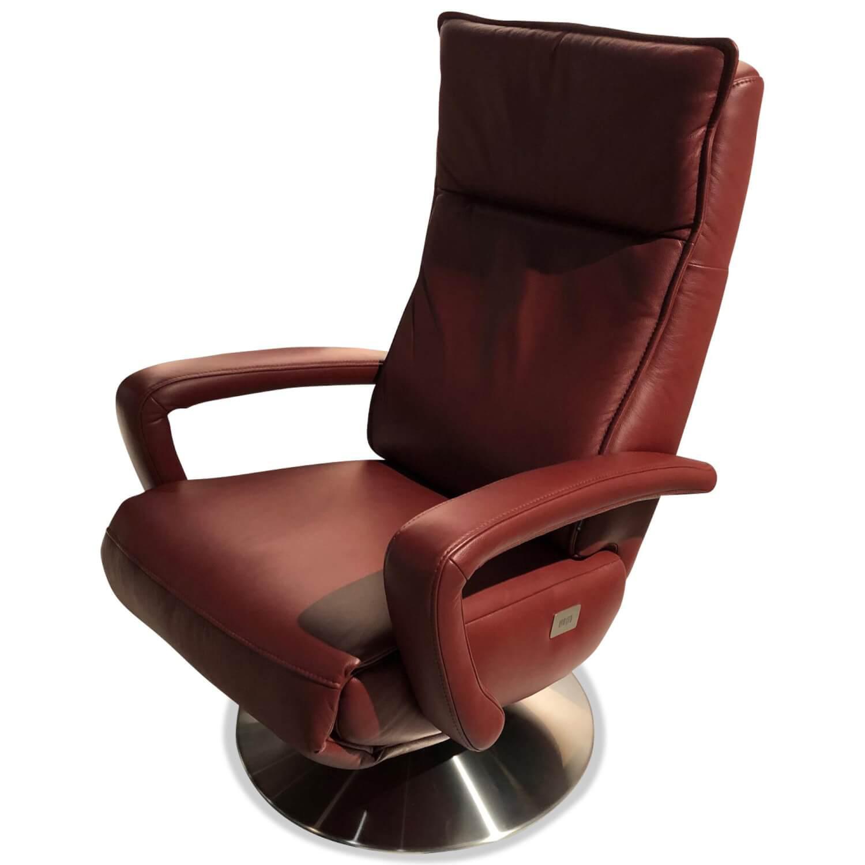 Sessel Mr 250 Leder Rot Mit Elektrischer Verstellfunktion Musterring Sessel Gunstig Kaufen Mobelfirst