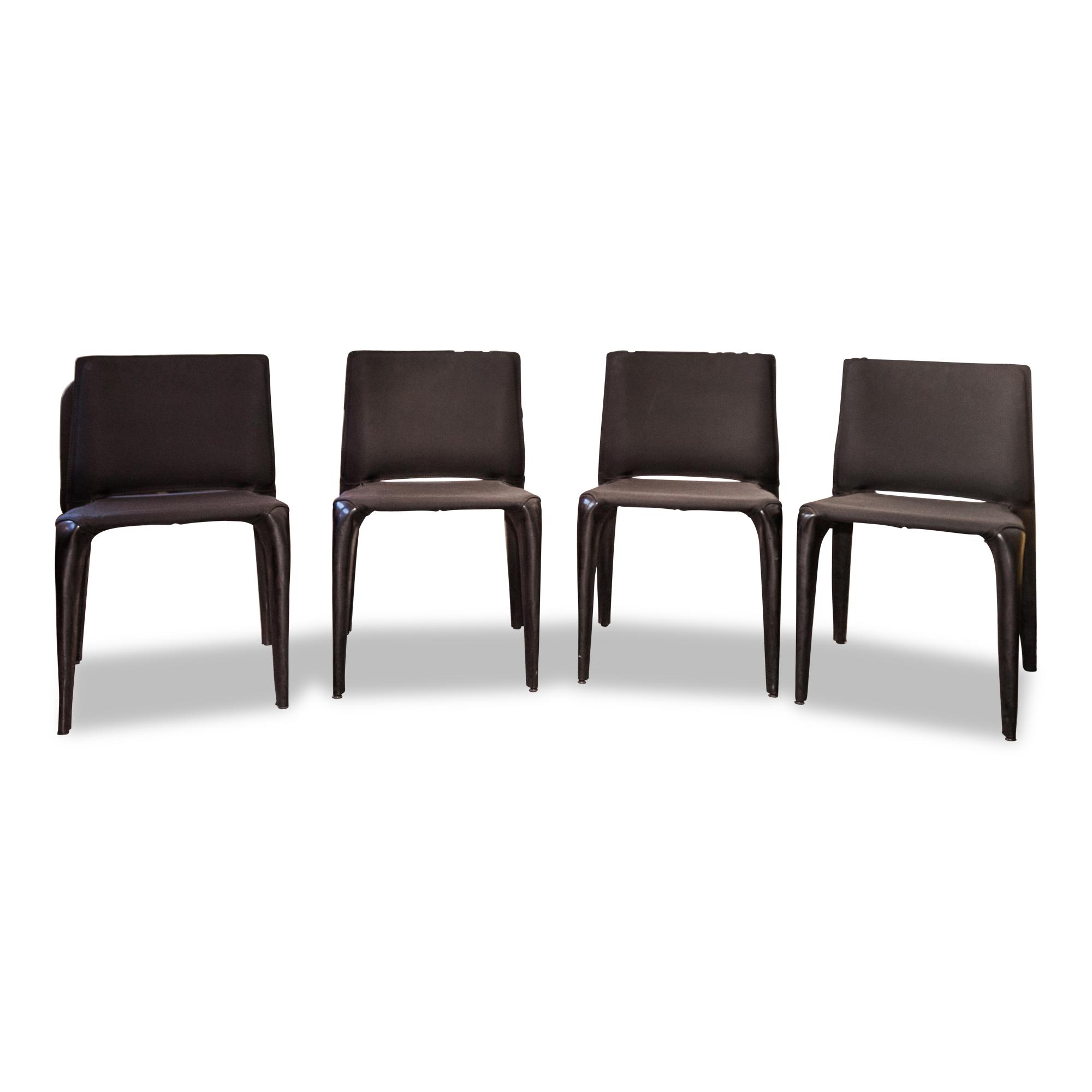 Stuhl Bull Leder Schwarz – Cassina – Stühle – günstig