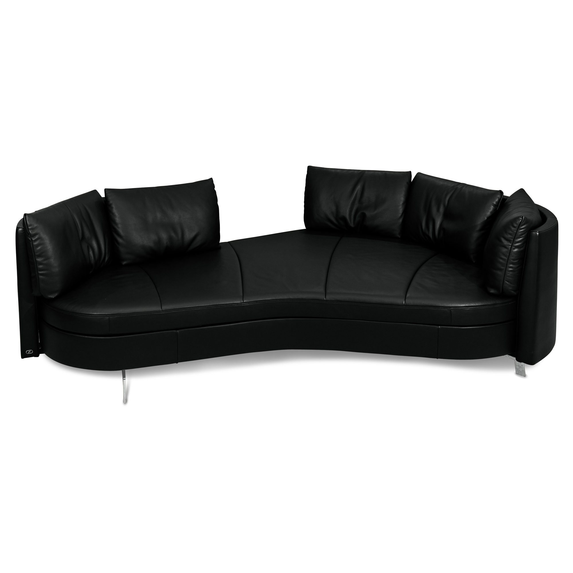 sofa ds 167 leder schwarz living asymmetrisch rechts de sede sofas g nstig kaufen m belfirst. Black Bedroom Furniture Sets. Home Design Ideas