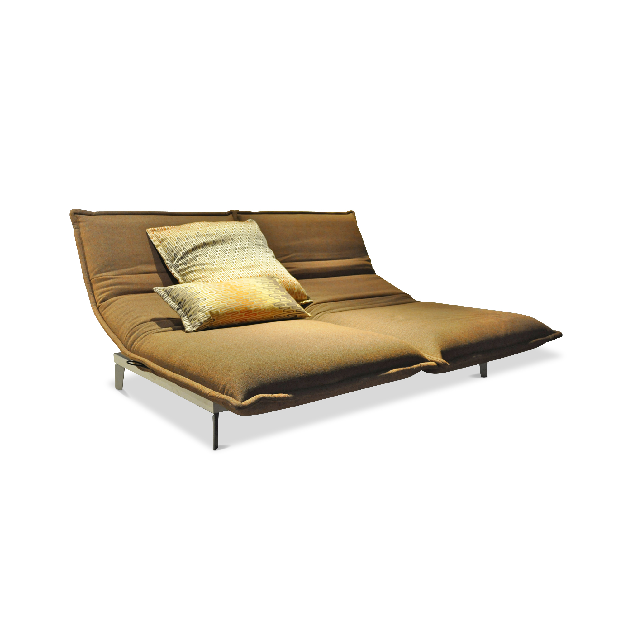 sofa nova beige orange schlaffunktion rolf benz sofas g nstig kaufen m belfirst. Black Bedroom Furniture Sets. Home Design Ideas