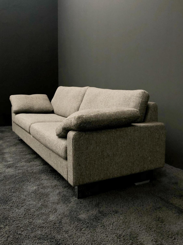 Sofa Conseta Bodenfrei Stoff Hallingdal 368 Braun-Grau ...