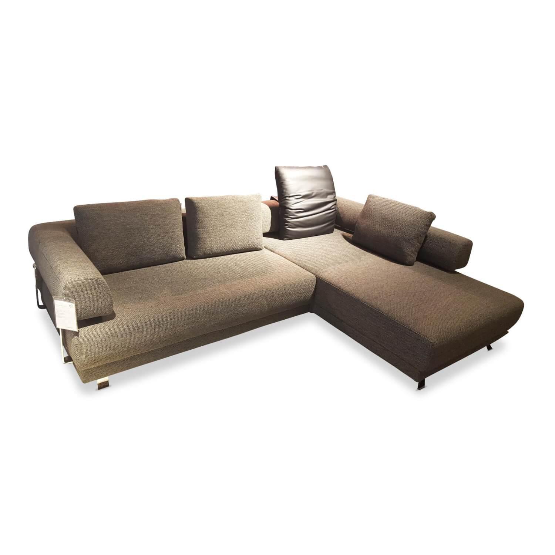 Ecksofa Brand Face Braun Stoff Garnituren Sofas Mobelfirst