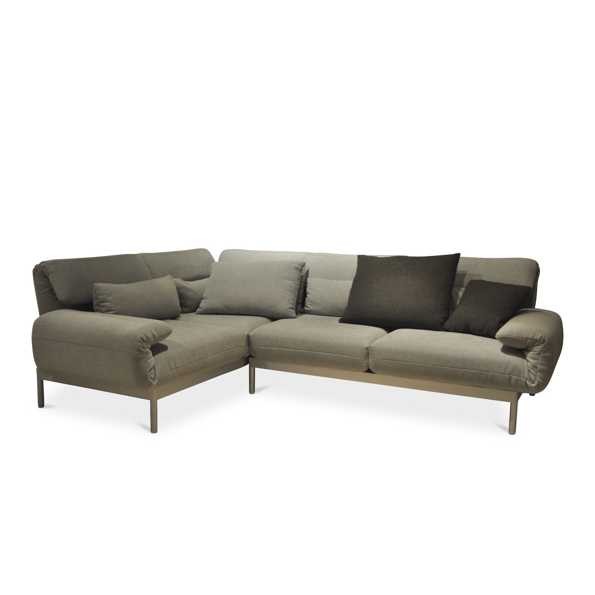 ecksofa plura mit liegefunktion rolf benz sofas. Black Bedroom Furniture Sets. Home Design Ideas