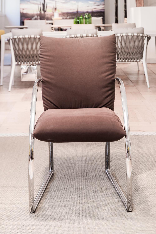 Stuhl 7600 Stoff Braun – Rolf Benz – Stühle – Günstig