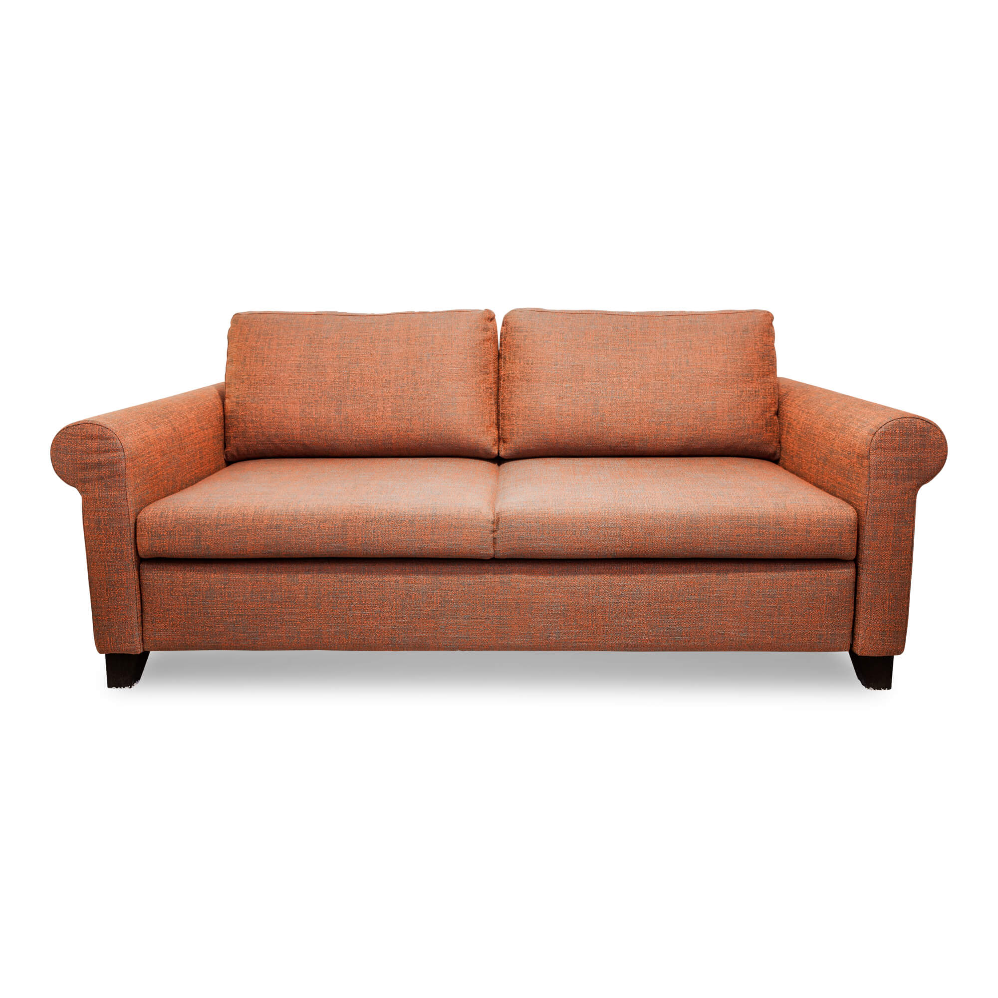Sofa Duna 160 Stoff Orange Schlaffunktion | Signet ...