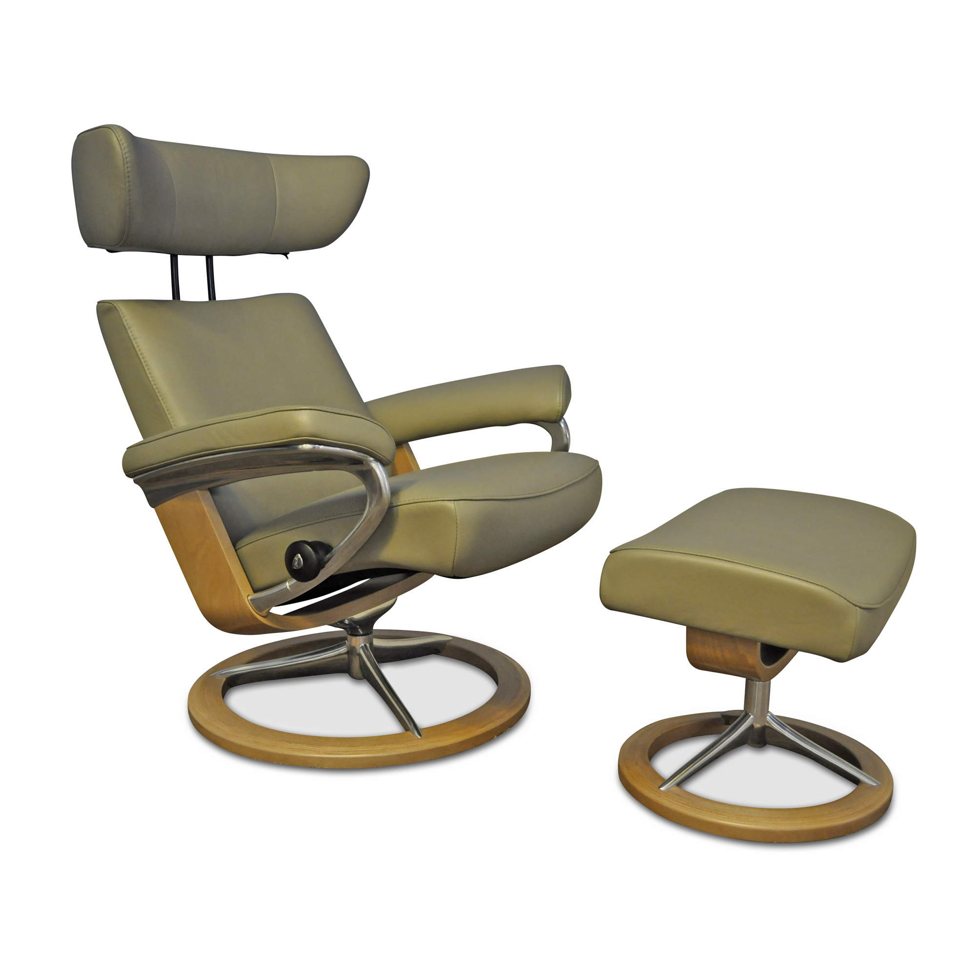 sessel viva m mit hocker in olive stressless sessel g nstig kaufen m belfirst. Black Bedroom Furniture Sets. Home Design Ideas