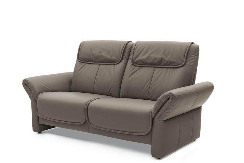 Garnitur Mr 380 Soft Leder Grau Relaxfunktion Musterring Sofas