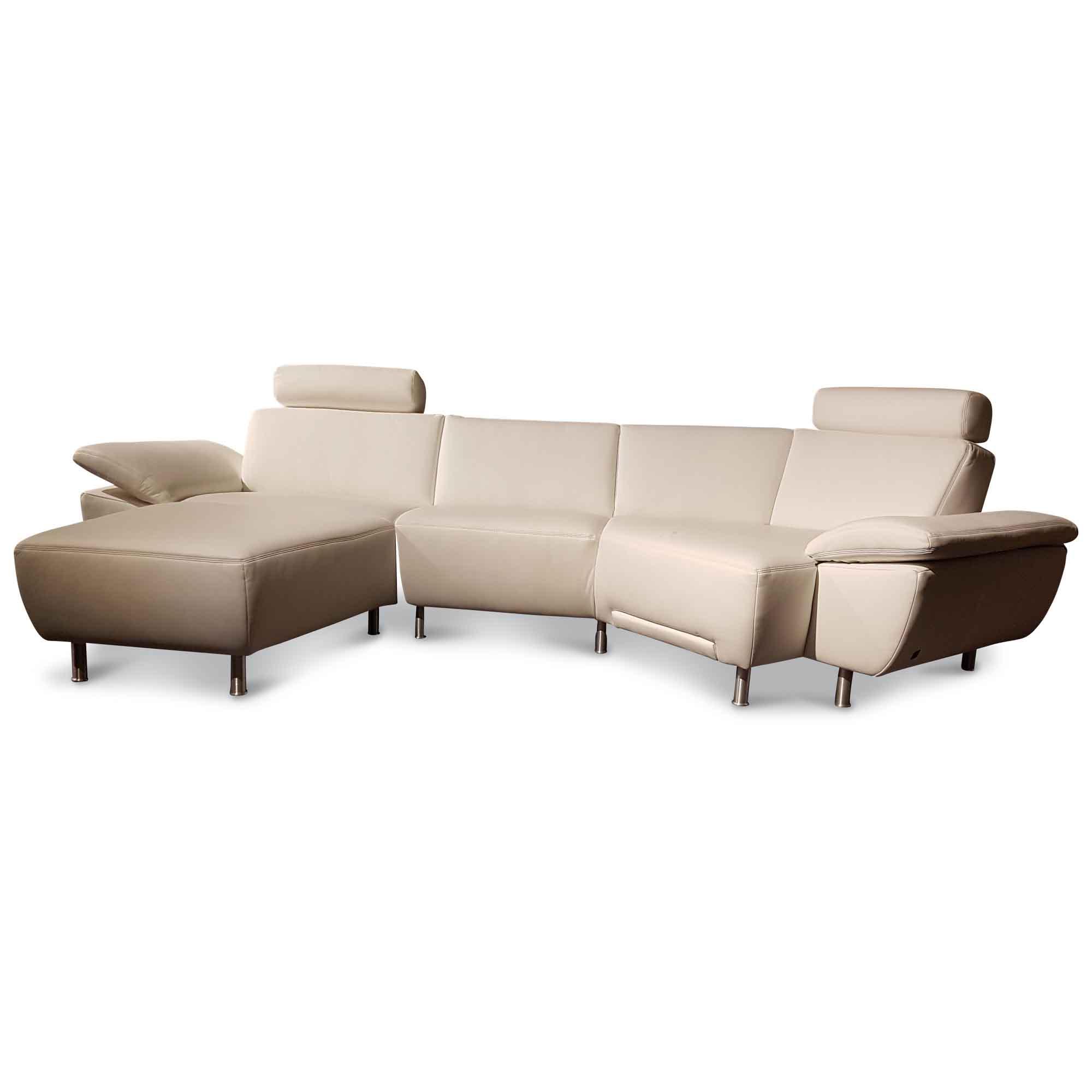 ecksofa mr 577 mit verstellbaren fu und armlehnen. Black Bedroom Furniture Sets. Home Design Ideas