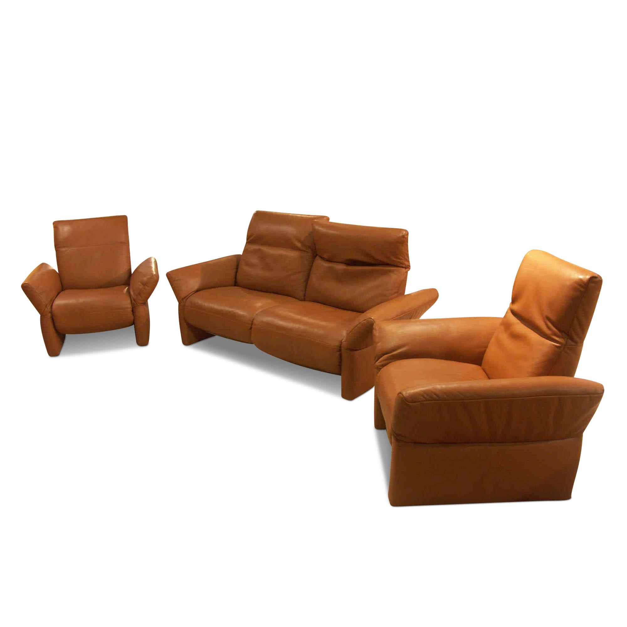 Koinor designer garnitur enzo 2 5 sitzer sofa 2 sessel for Ohrensessel 1 5 sitzer bezug baumwollmischgewebe