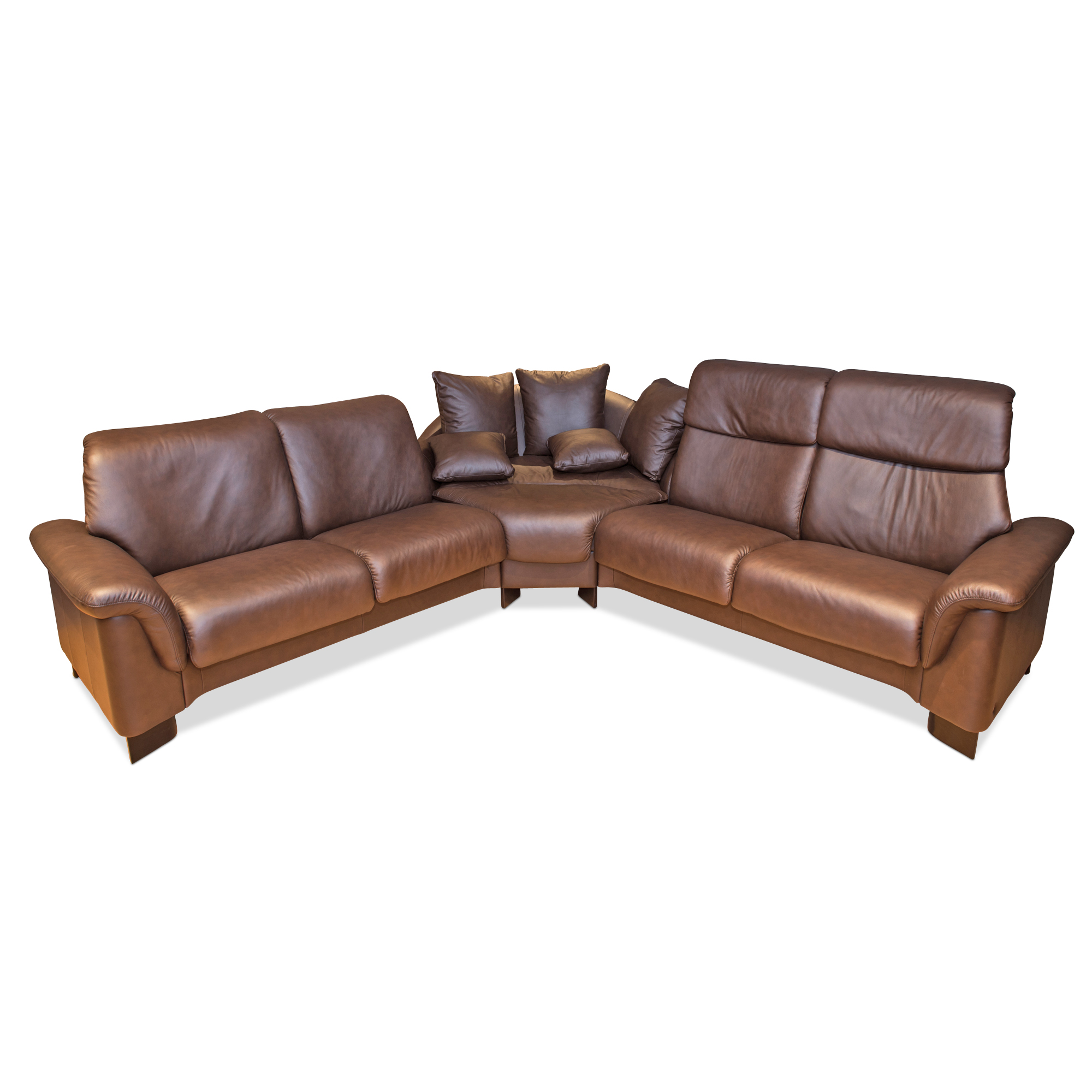 stressless designer ecksofa paradise mit verstellbarer r ckenlehne leder ebay. Black Bedroom Furniture Sets. Home Design Ideas