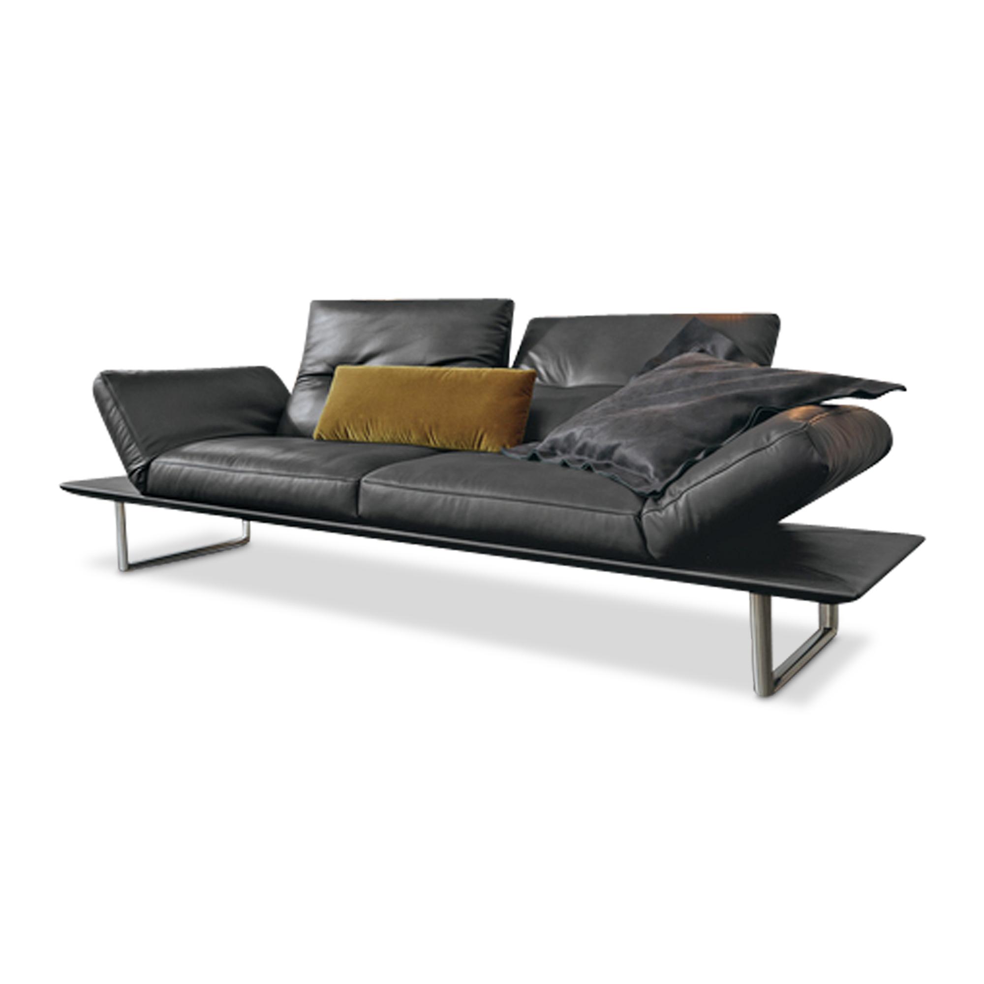 musterring designer sofa mr 495 2 5 sitzer leder. Black Bedroom Furniture Sets. Home Design Ideas