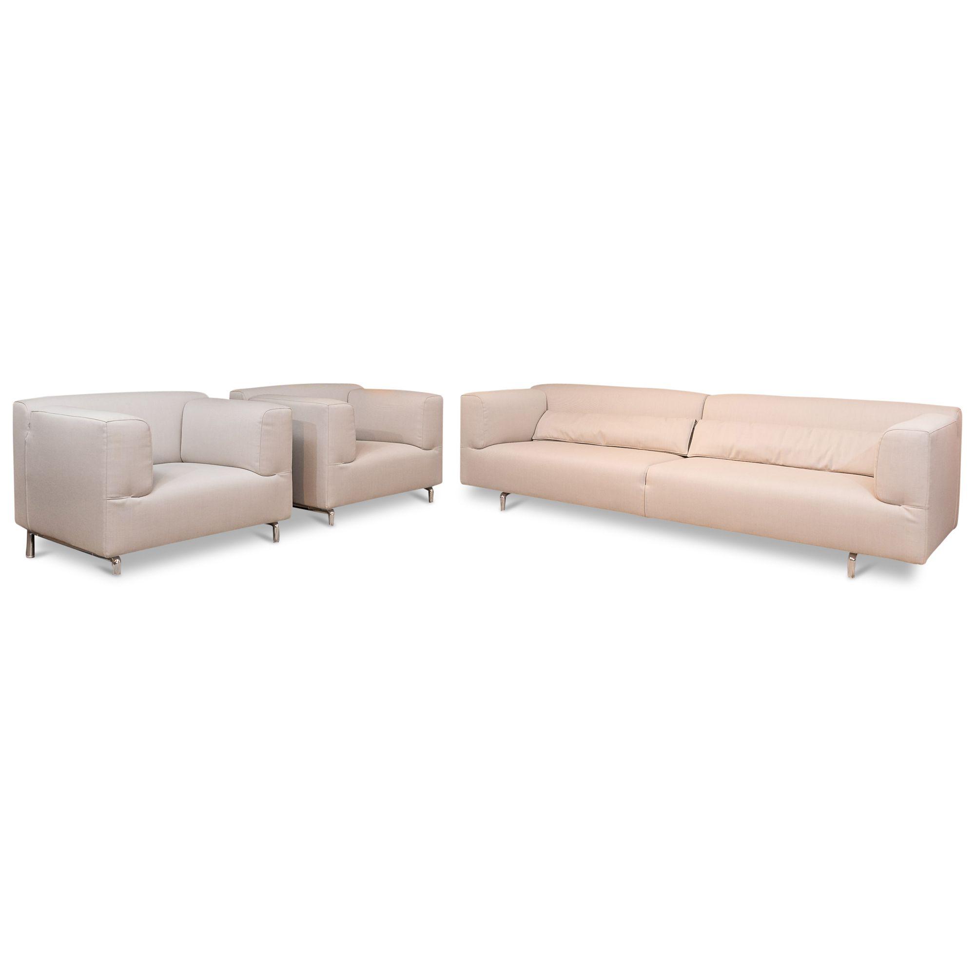 Garnitur MET 2 5 Sitzer 2 Sessel – Cassina – Sofas – günstig