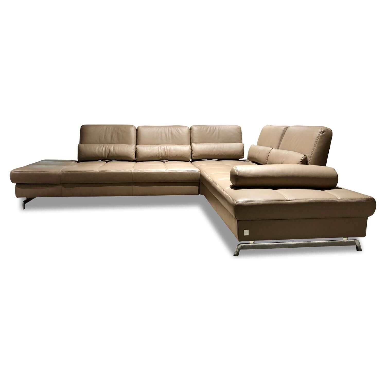 Ecksofa 8108 Loft Leder Braun 3 Sitzer Sofas Sofas Mobelfirst