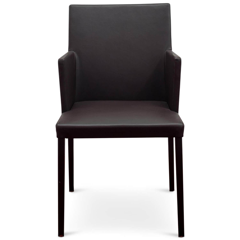 stuhl jason lite armlehnstuhl leder braun walter knoll. Black Bedroom Furniture Sets. Home Design Ideas