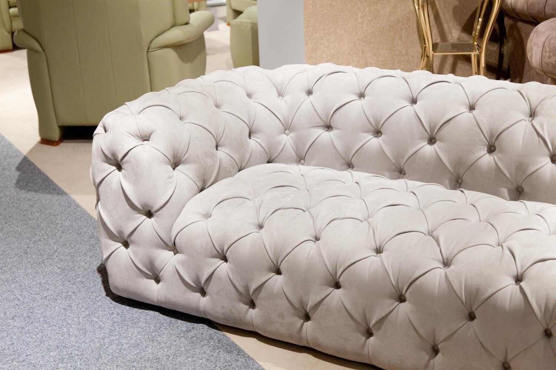 Sofa Emotion Stoff Grau   3-Sitzer-Sofas   SOFAS   MöbelFirst