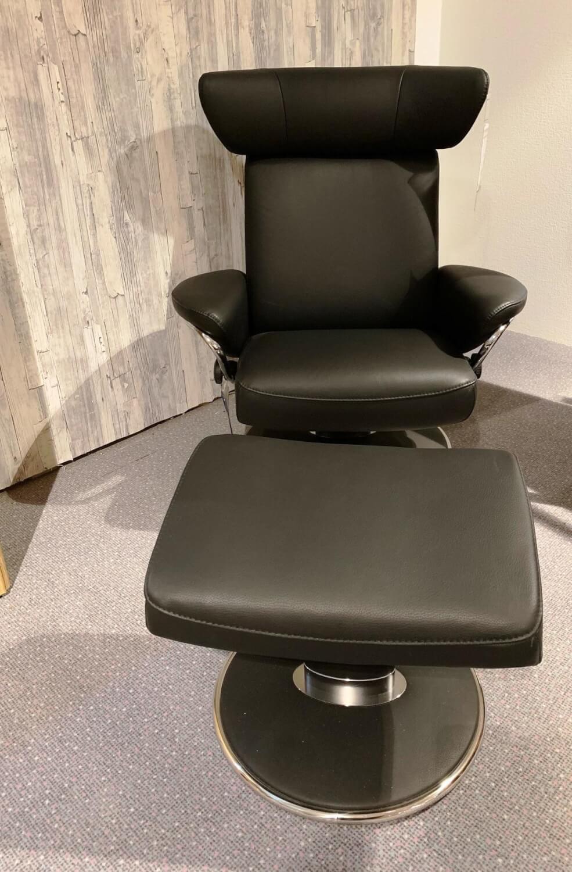 Sessel Jazz M 1212415 Leder Classic Schwarz Gestell Chrom Stressless Sessel Gunstig Kaufen Mobelfirst