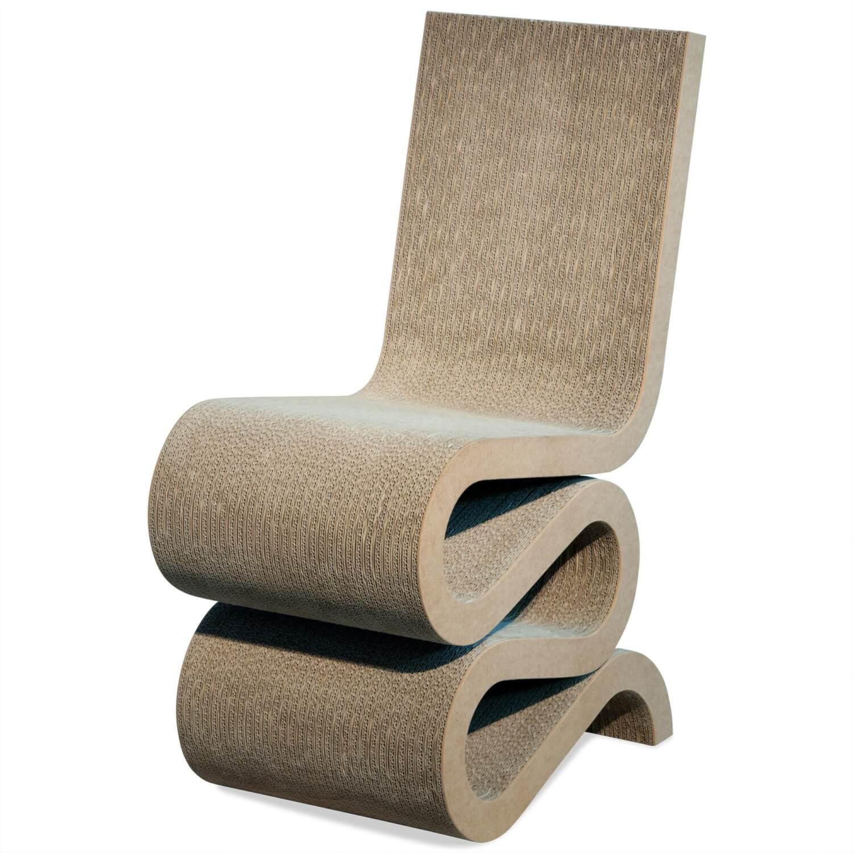 Sessel Wiggle Side Chair Wellkarton Natur – Vitra – Sessel